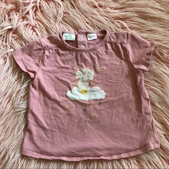 73070291 Zara Shirts & Tops | Final Price Baby Girl Tshirt | Poshmark